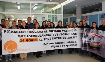 Compromís diu NO a les retallades de les Ambulàncies nocturnes a Picassent