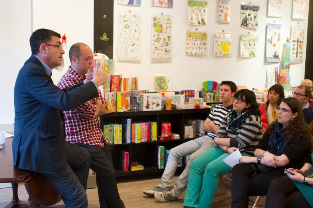 Enric Morera i Artur Hernàndez a l'Assemblea Oberta de Compromís per Picassent